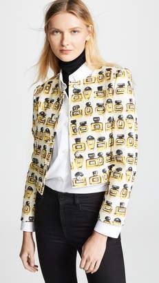 Moschino Perfume Print Jacket