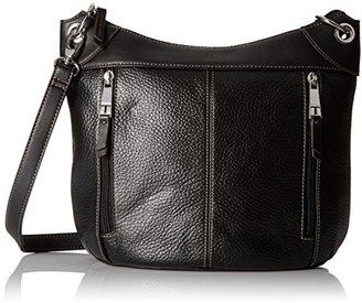 Tignanello Simple Zip Large Grain Leather Convertible Cross Body $60.80 thestylecure.com