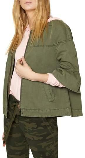 Scout Ruffle Sleeve Jacket