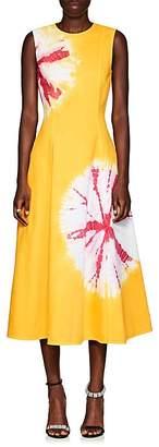 Calvin Klein Women's Tie-Dyed Denim Midi-Dress