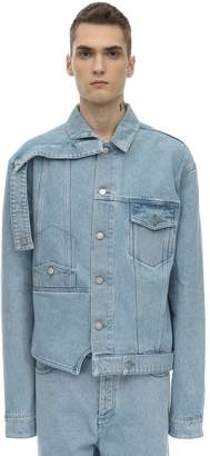 Botter Upside Down Cotton Denim Jacket