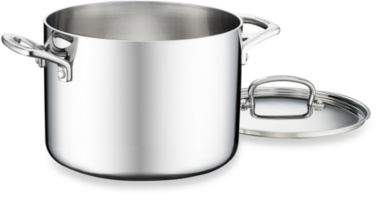 Cuisinart French Classic Tri-Ply Stainless 6-Quart Stock Pot with Cover