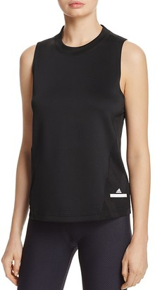 adidas by Stella McCartney Excl Tiger Stripe Mesh Tank $80 thestylecure.com