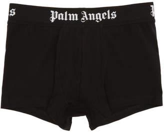 Palm Angels Black Logo Boxer Briefs