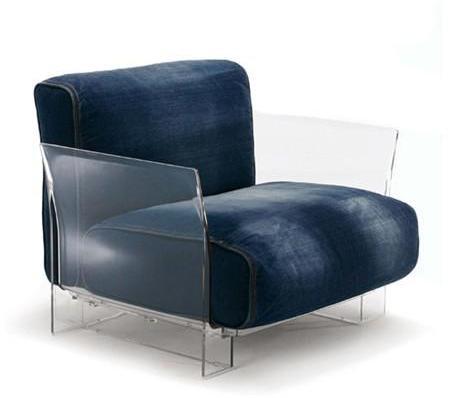 Kartell - pop armchair & modular sofa by piero lissoni for kartell