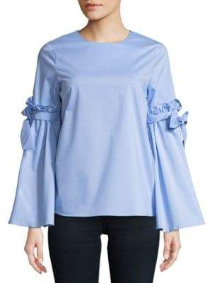Cupio Ruffled Tie Top