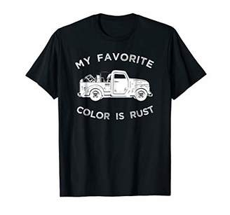 My Favorite Color Is Rust T-Shirt