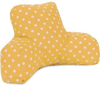 Majestic Home Goods Ikat Dot Reading Pillow, Indoor/Outdoor