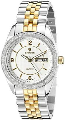 Croton Women's CN207279TTCR Heritage Analog Display Quartz Two Tone Watch