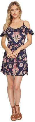 Angie Sleeveless Ruffle Sundress Women's Dress