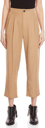 Religion Camel Pleated Pants