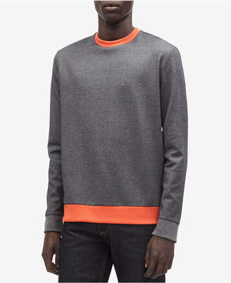Calvin Klein Men's Colorblocked Two-Tone Sweatshirt