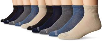 Fruit of the Loom Men's Pair Value Pack Ankle, Assorted colors