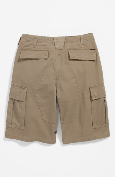 Volcom 'Slargo' Cargo Shorts (Little Boys & Big Boys)