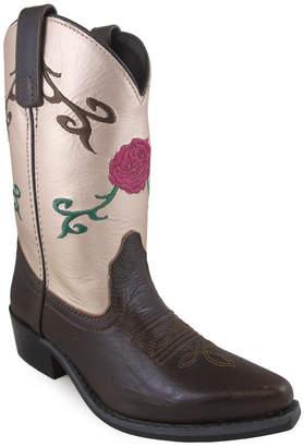 SMOKY MOUNTAIN Smoky Mountain Kid's Lucky Leather Cowboy Boot