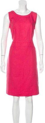 Armani Collezioni Linen Sheath Dress w/ Tags $295 thestylecure.com