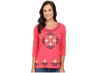 Roper 0444 Light Slub Jersey Tunic Women's Blouse