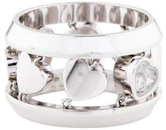 Chopard 18K Happy Amore Diamond Ring