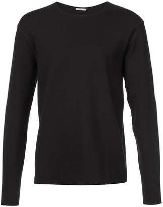 Homecore raw hem long sleeve T-shirt