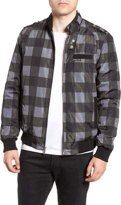 Members Only Iconic Check Racer Jacket