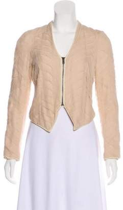 Haute Hippie Lightweight Silk Jacket