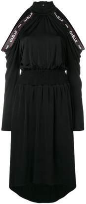 Gaelle Bonheur cold-shoulder flared dress