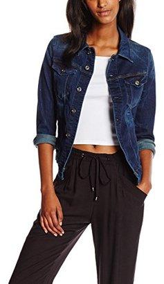 G-Star Raw Women's 3301 Denim Jacket in Neutro Stretch Denim $210 thestylecure.com