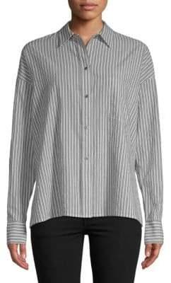 Vince Stripe Boxy Shirt