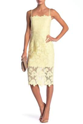 Bardot Sunshine Lace Sheath Dress