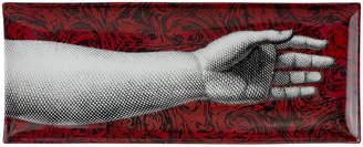 Fornasetti Don Giovanni Rectangular Porcelain Tray - 38x14cm