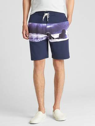 "Gap 10"" Print Board Shorts"