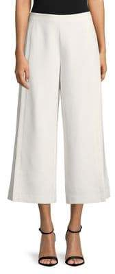 Isaac Mizrahi IMNYC Wide Leg Culotte Pull On Pant with Side Slits