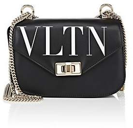 Valentino Women's Small Leather Shoulder Bag - White