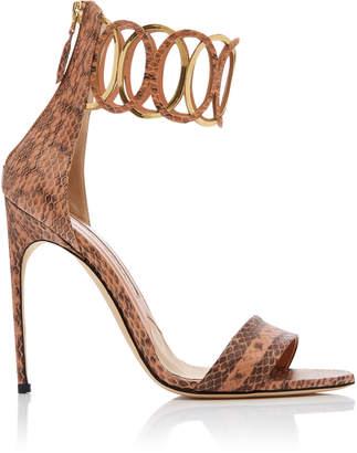 Brian Atwood Jiulia Snake Sandal