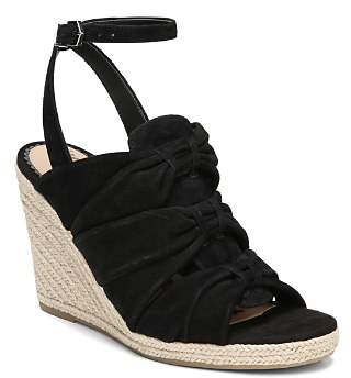 Sam Edelman Women's Awan Suede Espadrille Wedge Sandals