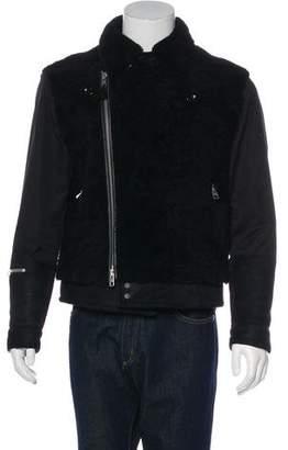 AllSaints Talbot Shearling Jacket