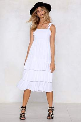 Nasty Gal Stuck in the Midi With You Dress