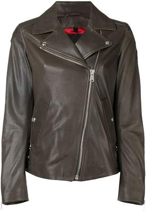 Belstaff fitted biker jacket