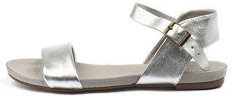 Django & Juliette New Jinnit Silver Silver Womens Shoes Casual