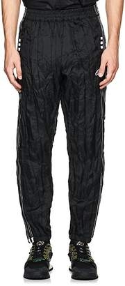 adidas by Alexander Wang Men's Crinkled Tech-Fabric Tear-Away Track Pants
