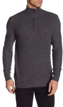 Calvin Klein Mock Neck Quarter Zip Sweater