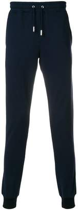 Eleventy skinny-fit track trousers