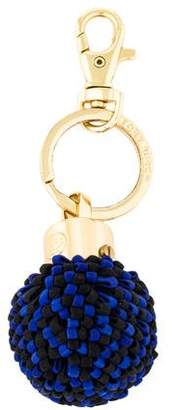 Tory Burch Ornament Travel Keychain
