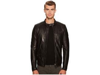 Belstaff V Racer New Tumbled Leather Jacket