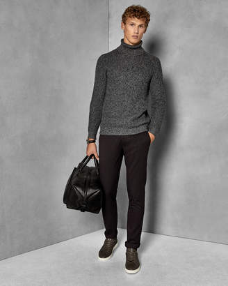 Ted Baker WILLHAM Slim fit textured trousers