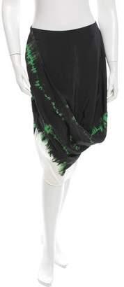 Stella McCartney Silk Draped Skirt w/ Tags