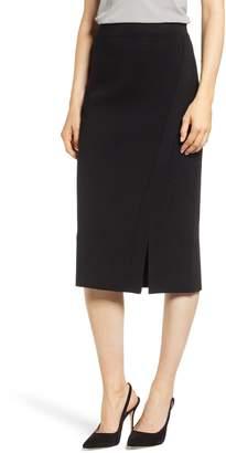 Anne Klein Slit Detail Midi Skirt