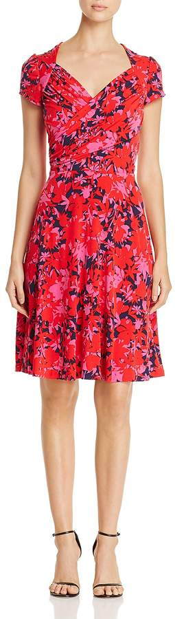 Leota Sweetheart Printed Dress