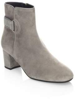 LK Bennett Leather Buckle Ankle Boots