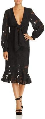 Finders Keepers Midnight Midi Dress
